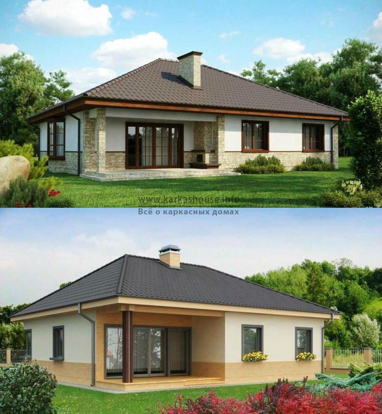 Каркасные одноэтажные дома цены