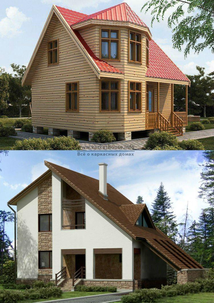 Каркасно щитовые дома проекты