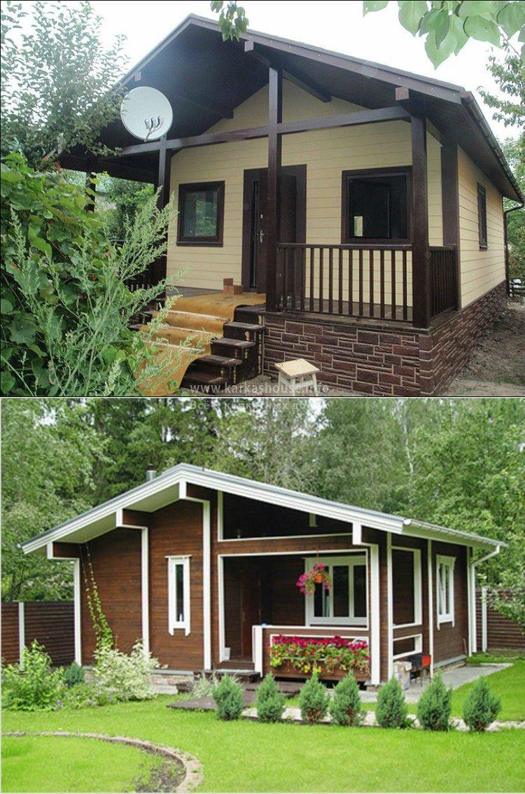 Проекты каркасно щитовых одноэтажных домов