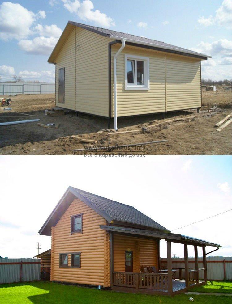 Типовые проекты каркасно щитовых домов