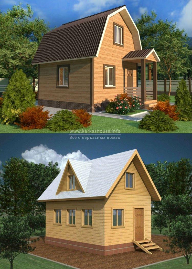 Строительство каркасно щитовых домов под ключ