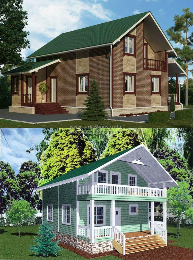 Каркасно щитовые дома под ключ цена