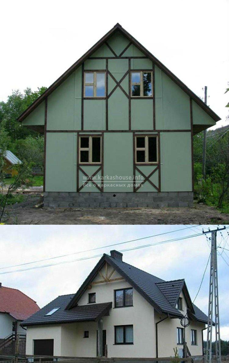Каркасно щитовой дом под ключ цена