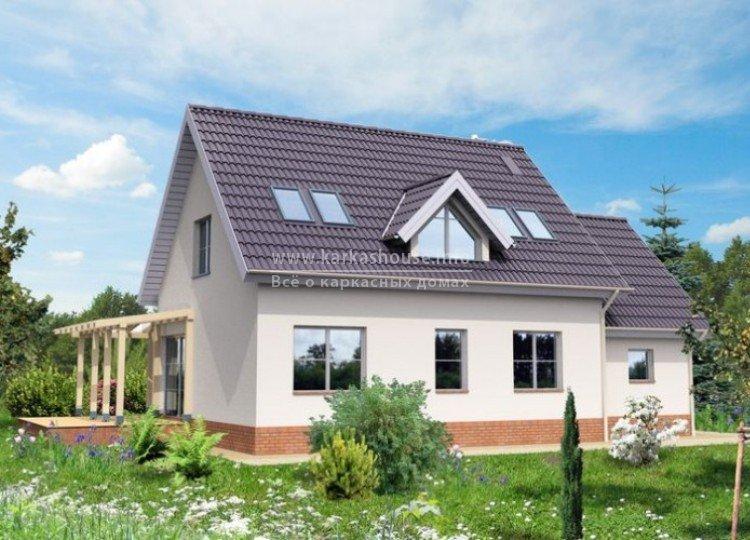 Купить каркасно щитовой дом под ключ цена