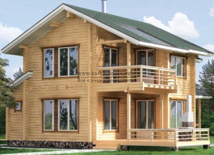 Цена строительства каркасно щитового дома