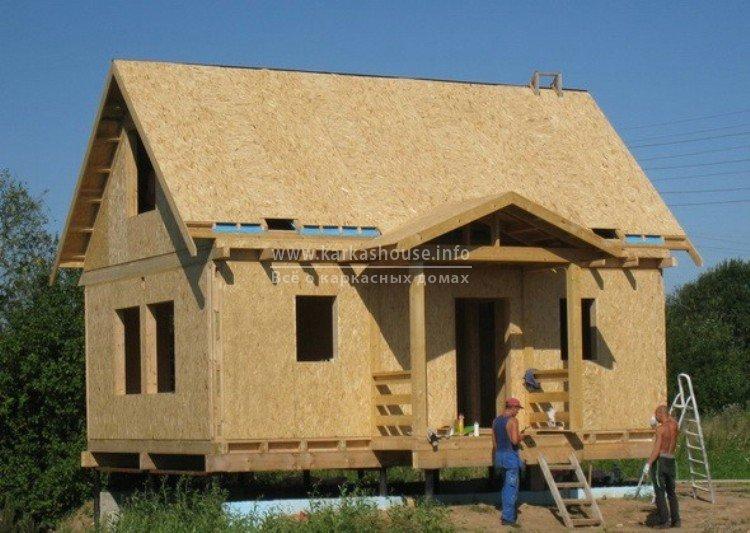 Каркасно щитовые дома технология строительства