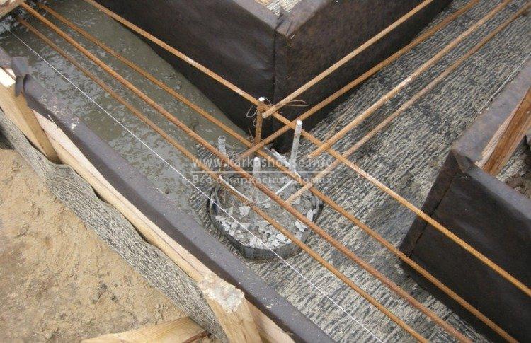 Строительство свайного фундамента с ростверком цена