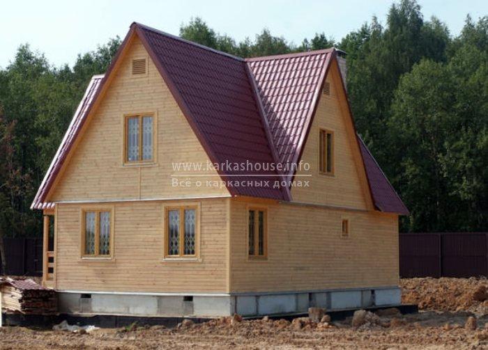 Каркасно щитовой дом цена