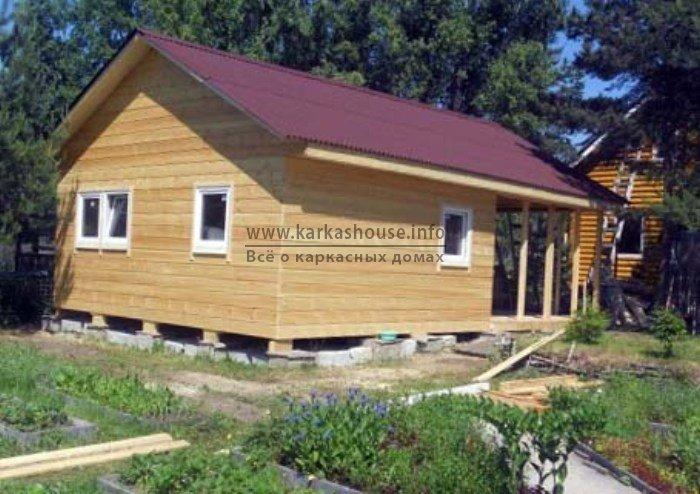 Каркасно щитовой дом недорого