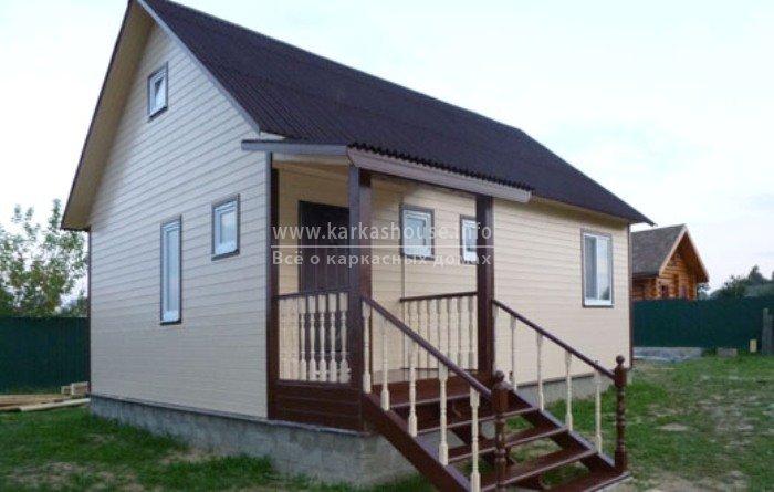 Одноэтажные каркасные дома под ключ недорого цены
