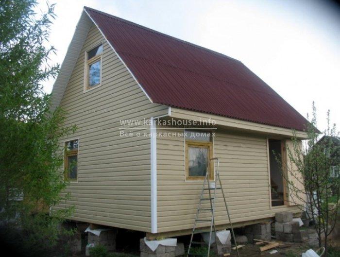Одноэтажные каркасно щитовые дома под ключ цена
