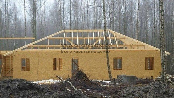 Одноэтажные каркасн щитовые дома под ключ цены на строительство