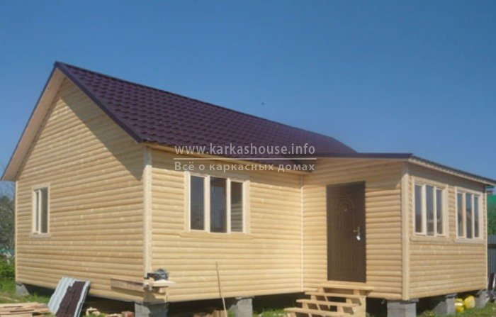 Одноэтажные каркасно щитовые дома под ключ цены фото