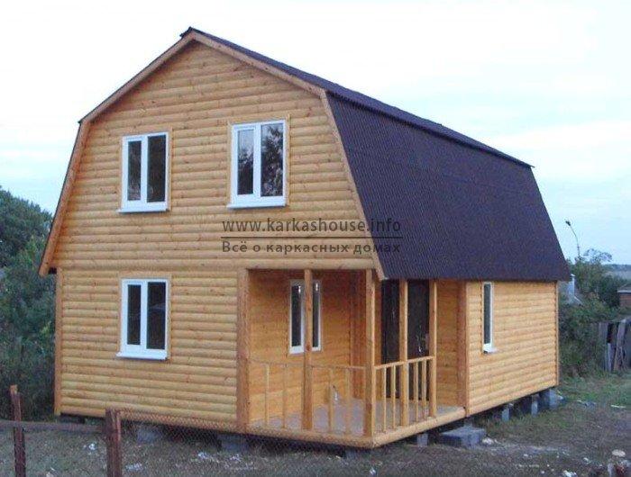 Купить каркасно щитовой дом под ключ дачный