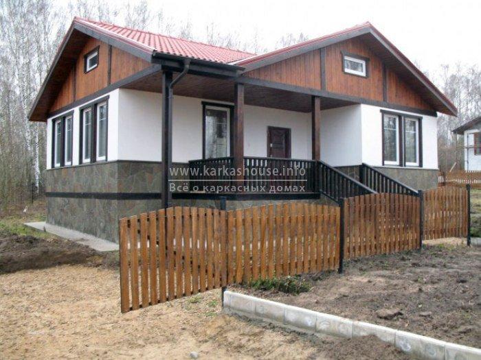 Каркасно щитовые дачные дома