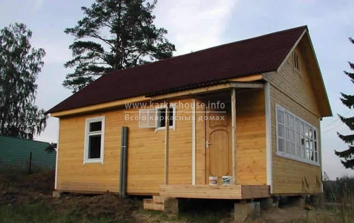 Каркасно щитовые дачные дома недорого