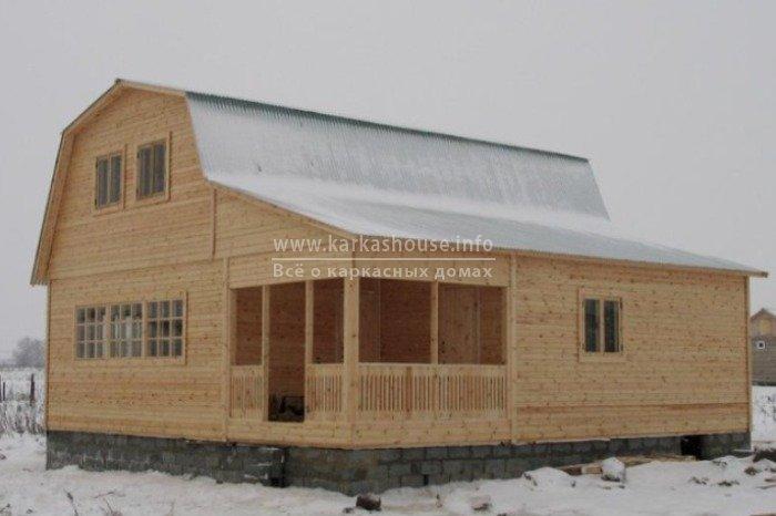 Каркасно щитовые дачные дома цены