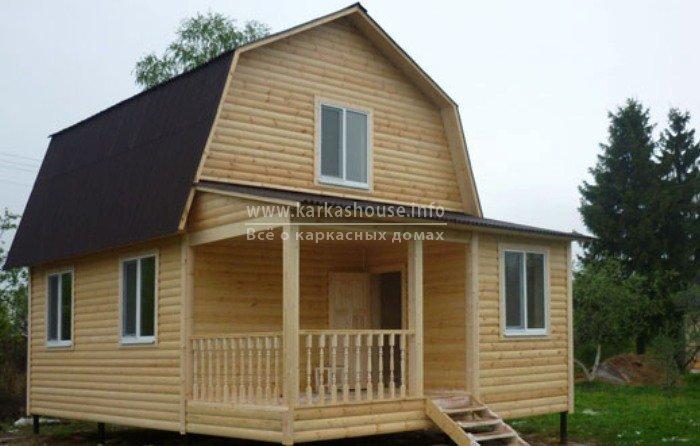 Проекты каркасно щитовых дачных домов