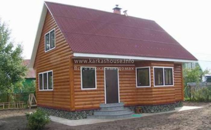 Каркасно щитовые дачные одноэтажные дома
