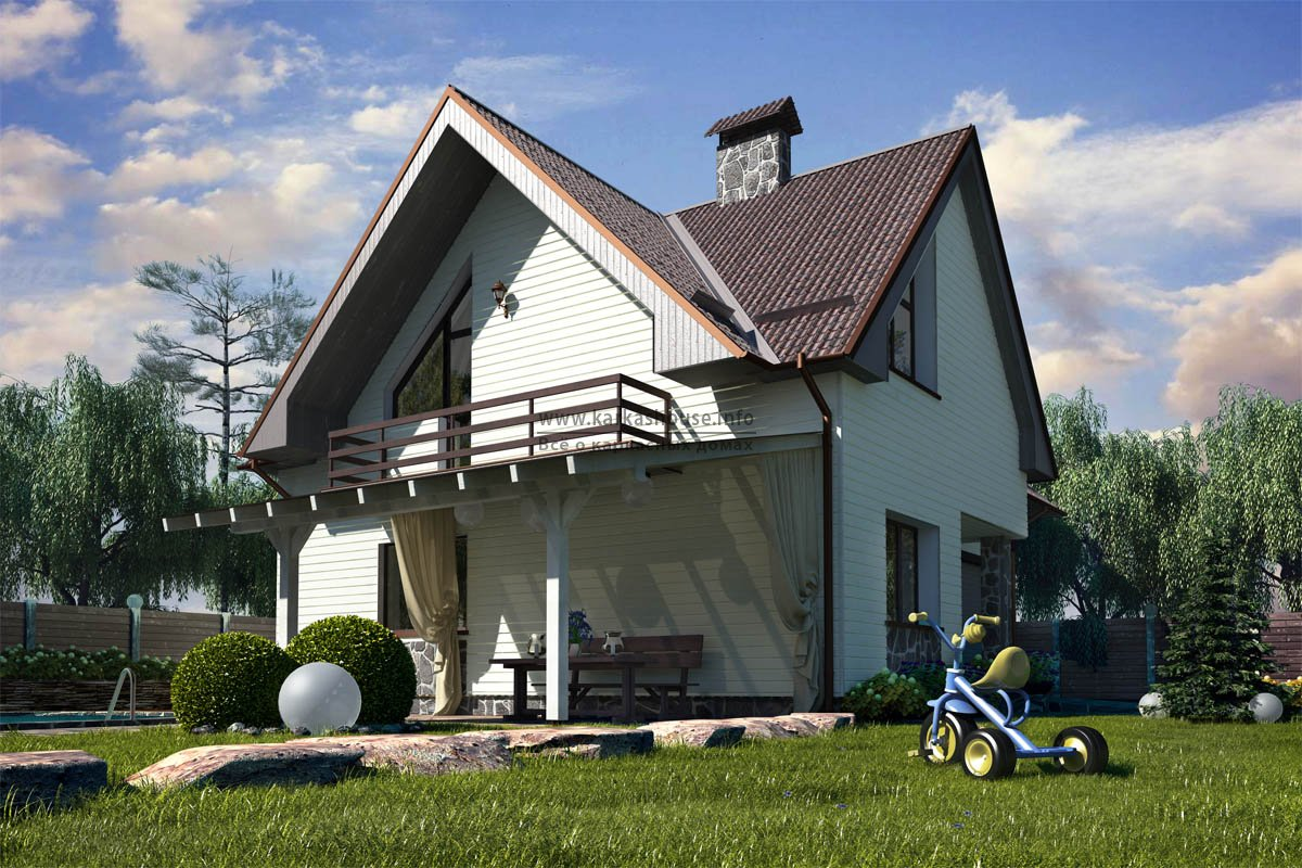 стоимость каркасного дома 6х9
