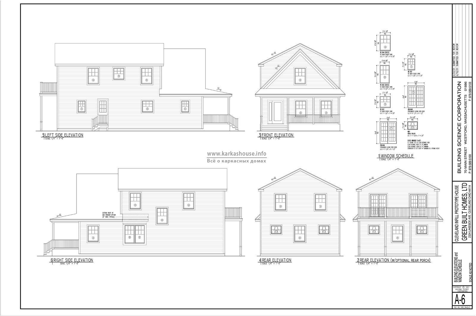 проекты двухэтажного дома-коттеджа бесплатно