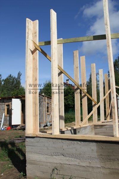 постройка каркасно щитового дома 5