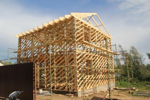 постройка каркасно щитового дома своими руками