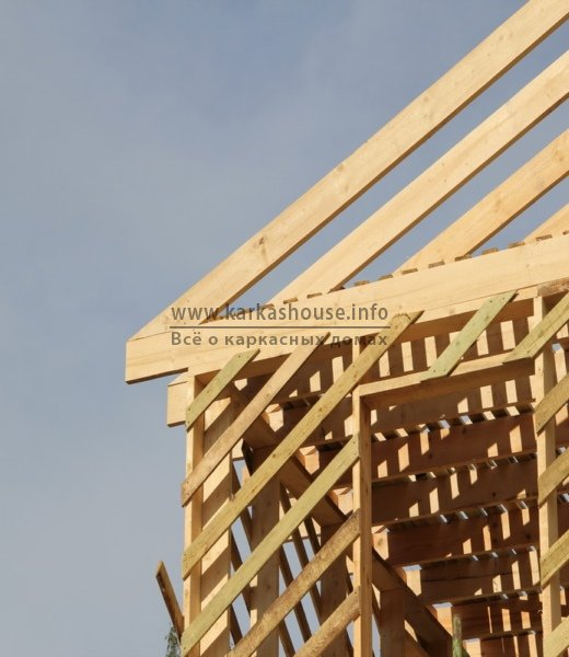 постройка каркасно щитового дома обшивка