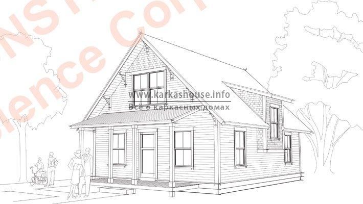 Проекты домов 140 квм, заказать и купить проект коттеджа