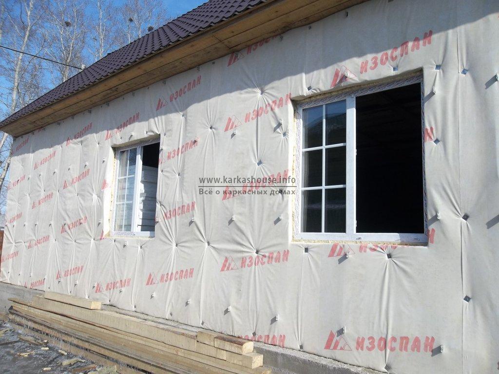 пароизоляция утеплителя для стен