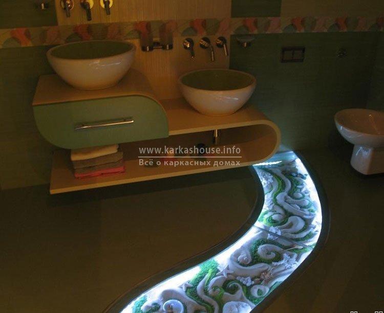 Светодиодные приборы для ванной