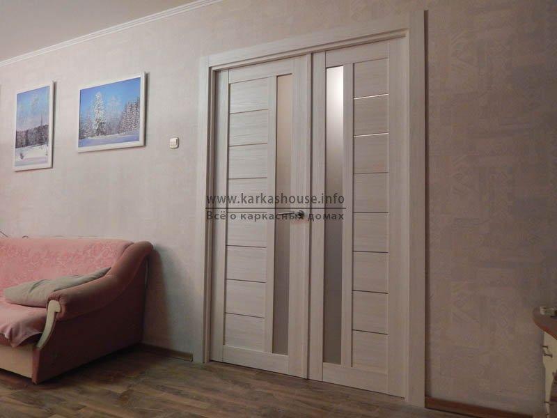 двери из экошпона в доме