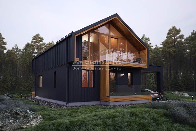 дом амбарного типа