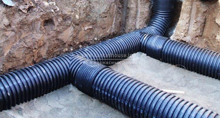Двустенные гофрированные трубы при прокладке подземных коммуникаций