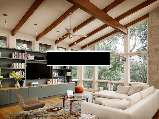 угловой диван в частном доме